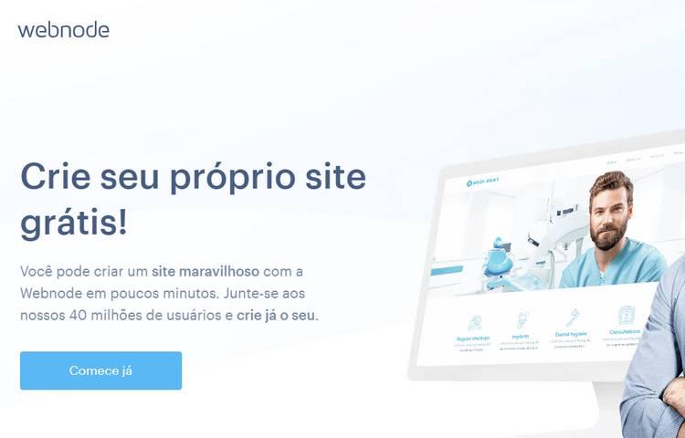 cria blog gratuito com webnode