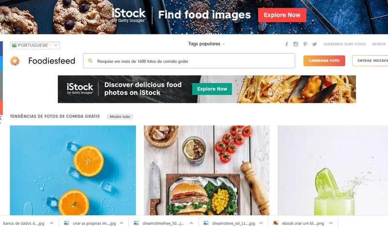 banco de imagens de comidas foodiesfeed